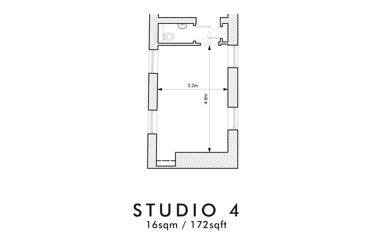 Room Hire Shoreditch - Studio 4 - TT Studios – Flexible Space Hire and Room hire as event venue for corporate receptions, product launches, short term office space, meeting room hire and studio rentals – Shoreditch, east London.