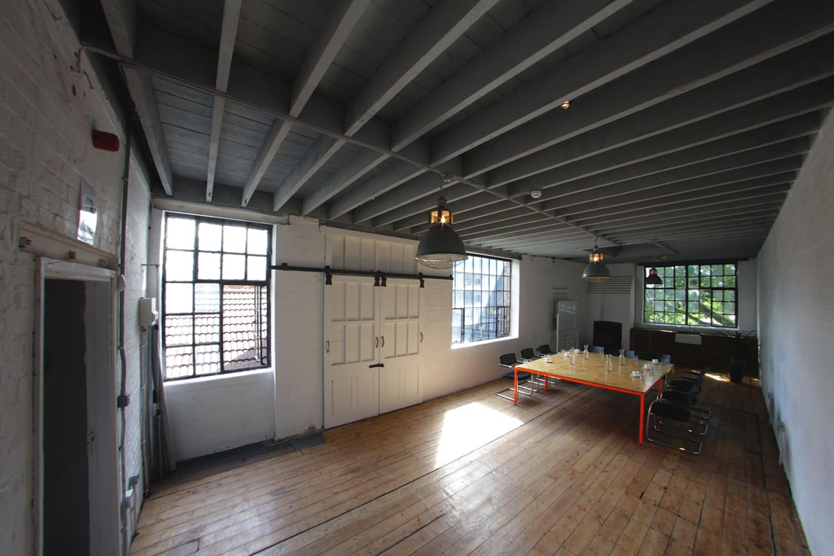 Studio Rental Shoreditch - West Wing - TT Studios – Flexible Space Hire and Room hire as event venue for corporate receptions, product launches, short term office space, meeting room hire and studio rentals – Shoreditch, east London.